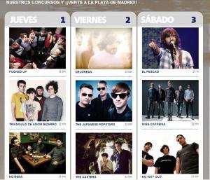 MTV Beach Marid, halconviajes.com