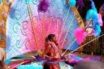 traje de carnaval en Notthing Hill