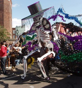 Calavera Carnaval de Notthing Hill