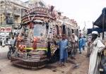 Autobús decorado en Pakistán