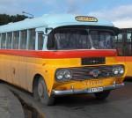 Autobús antiguo de Malta