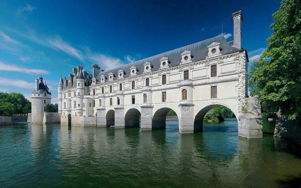 castillo valle Loira