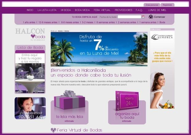 Halconviajes.com,. luna de miel, organizar bodas